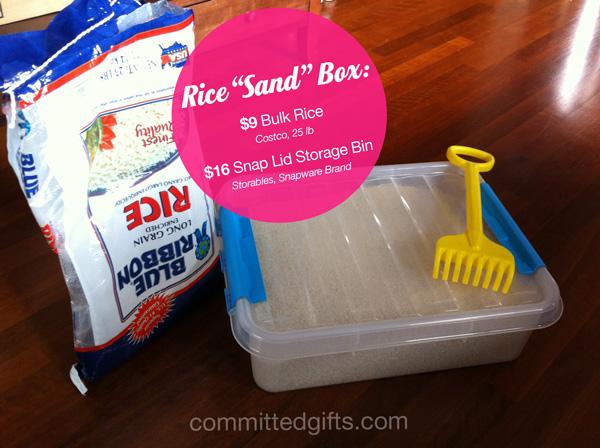 Rice Sand Box