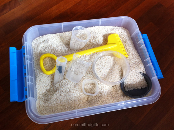 Rice play box