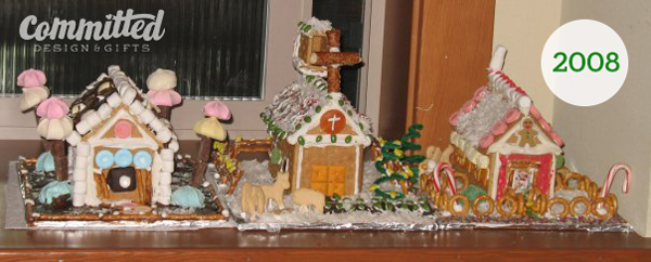 2008 Gingerbread houses