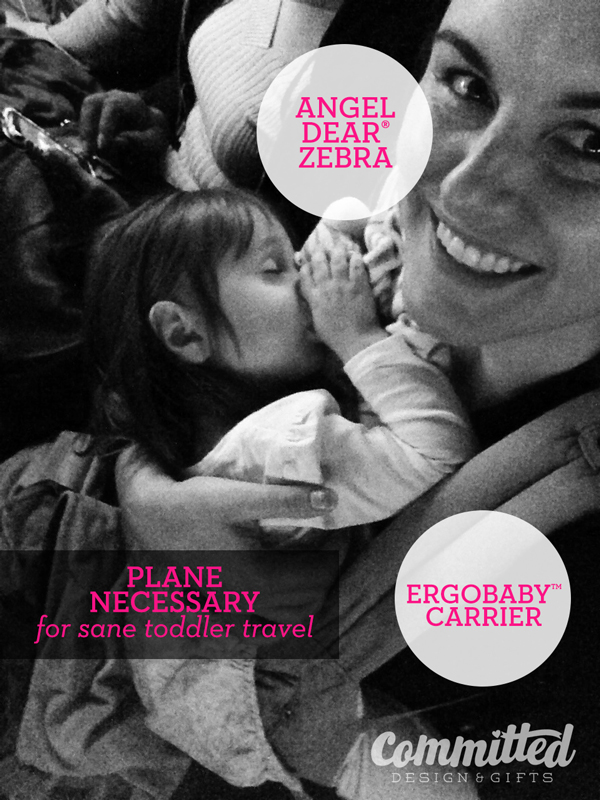 Getting a toddler to sleep on a plane