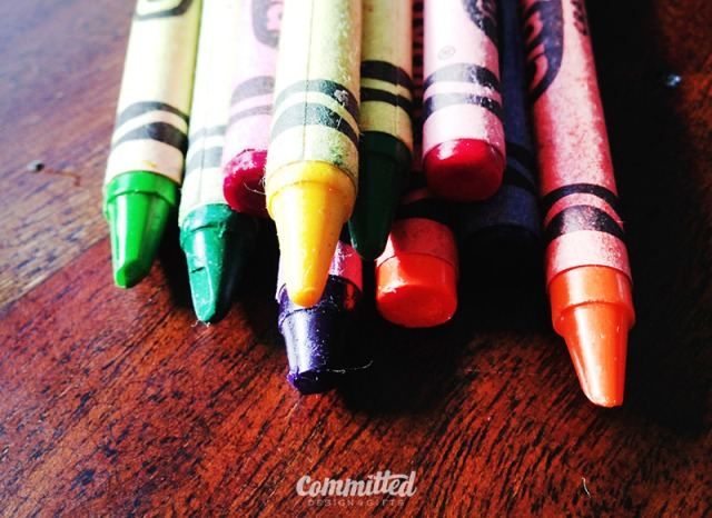 Start with crayons