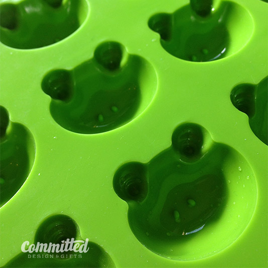 Froggy mold for DIY crayons.