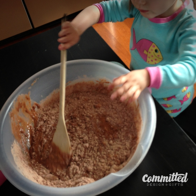 Toddlers can help cook