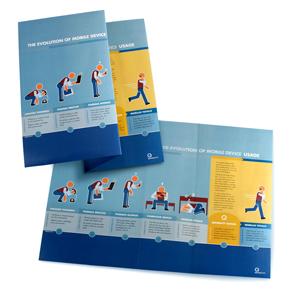Brochure design.
