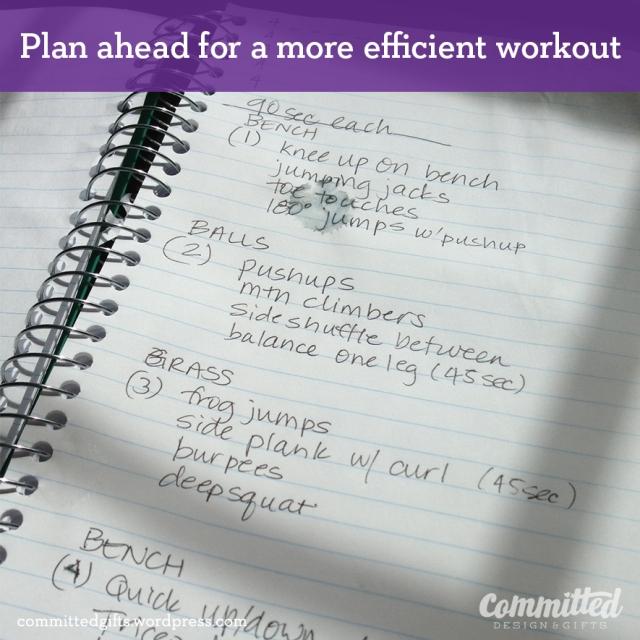 HIIT workout plan