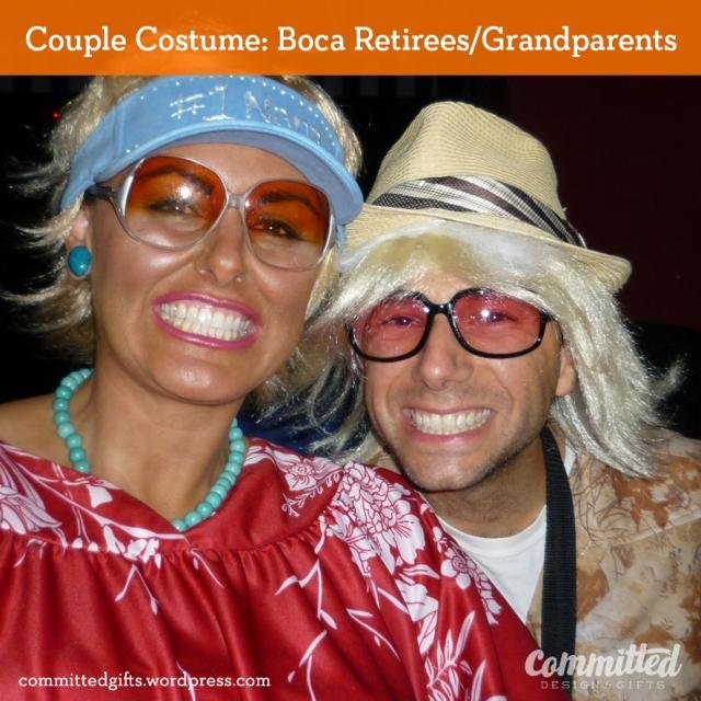 Dressing up like grandparents