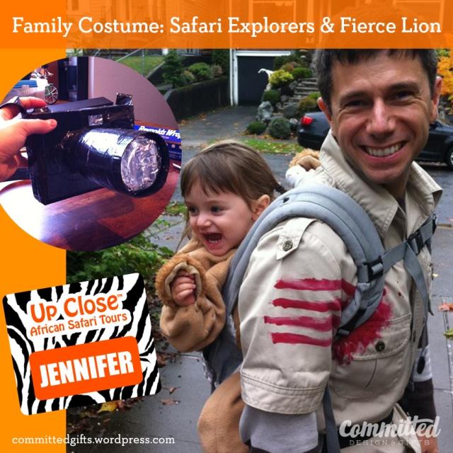 Toddler lion costume