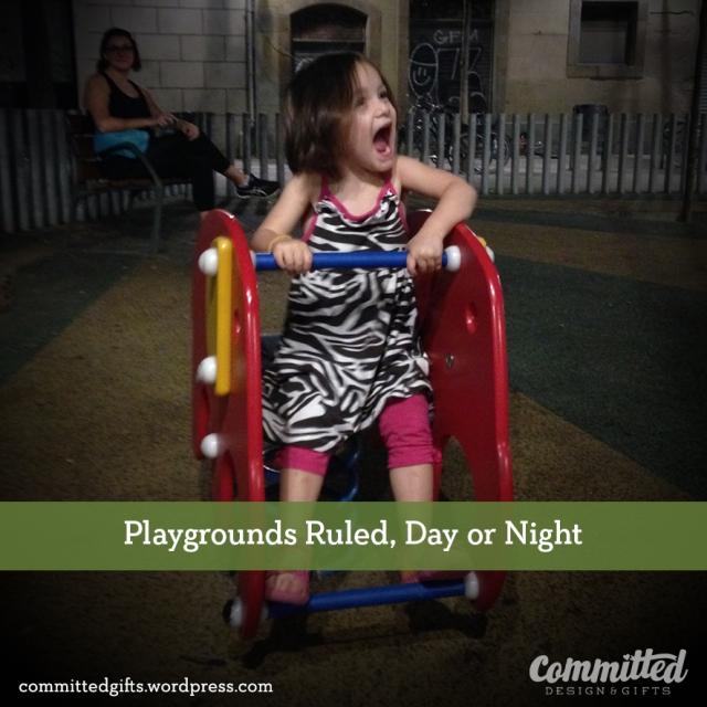Playgrounds around Spain.