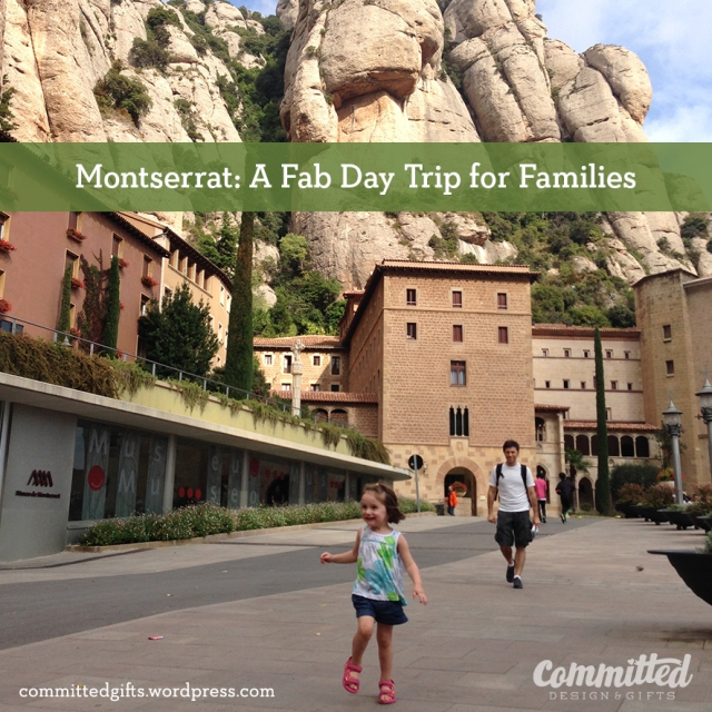 Montserrat with a toddler.