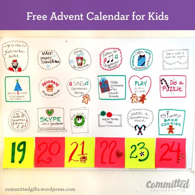 Free Advent Calendar