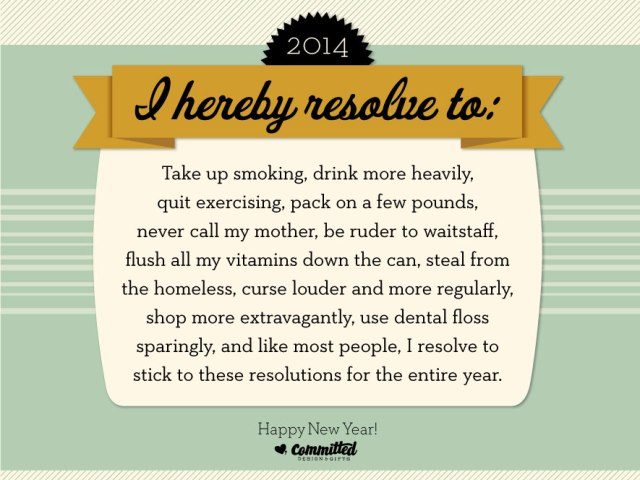 Committed resolutions