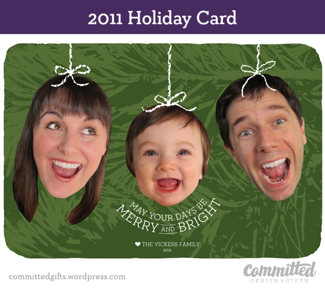 Holiday card 2011.