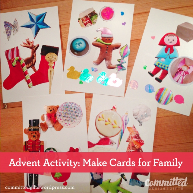 Make cards: advent activity