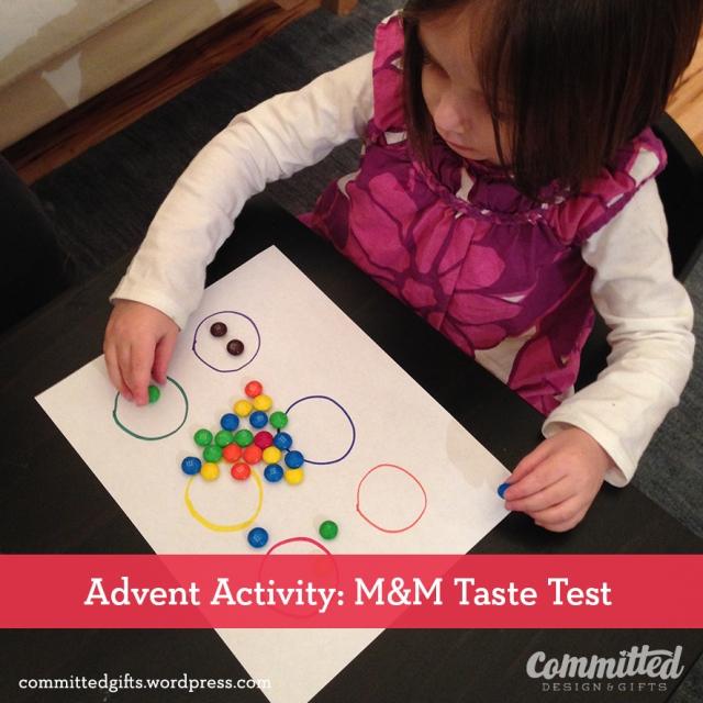 M&M taste test