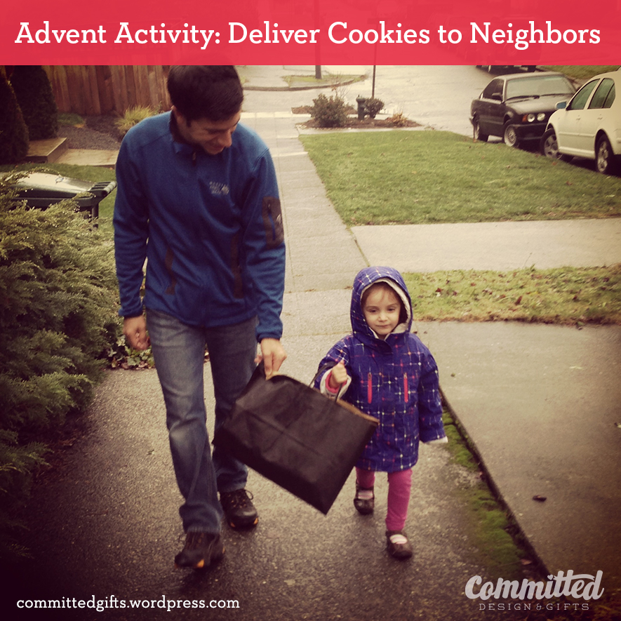 Delivering cookies to neighbors