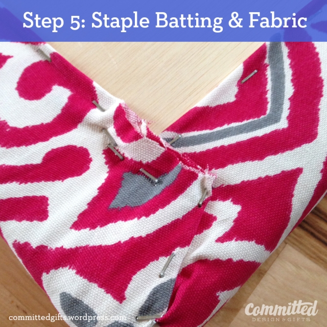 Staple batting & fabric