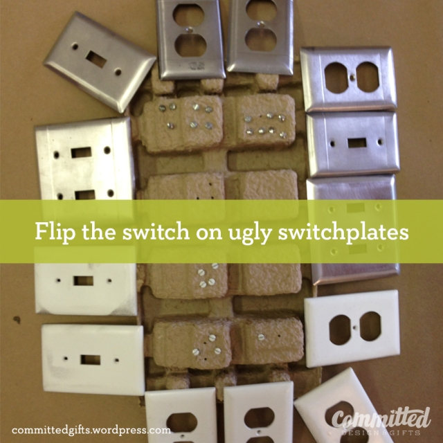 Paint your switchplates