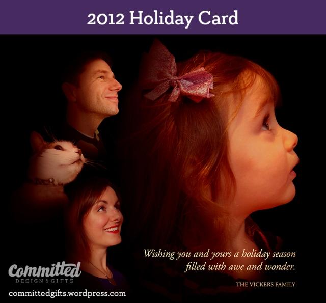 Family holiday card