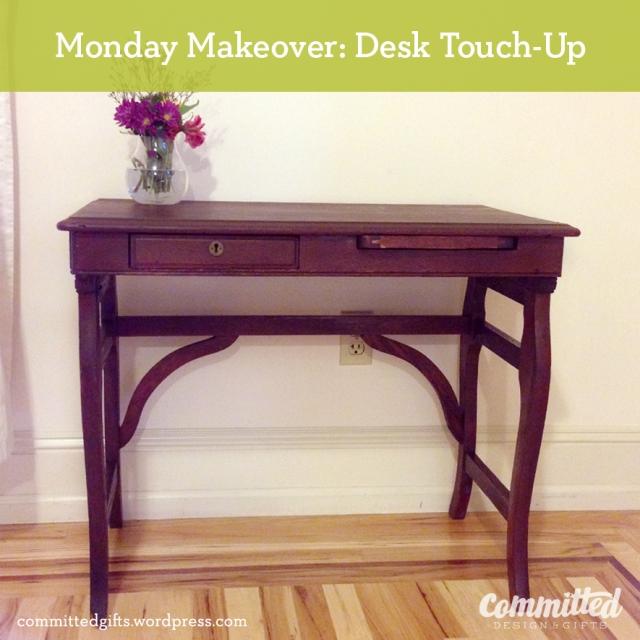 Desk Makeover: after