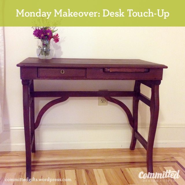 Desk Makeover: after