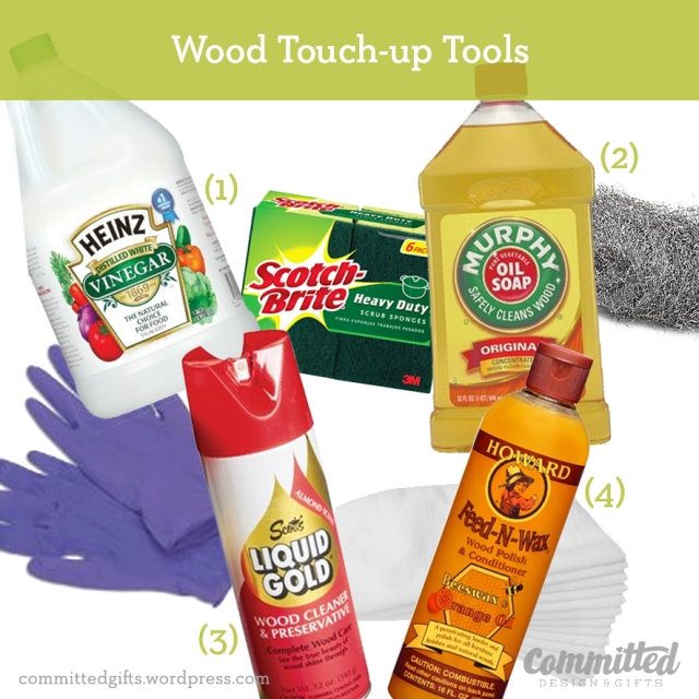 Wood Touch-up Tools
