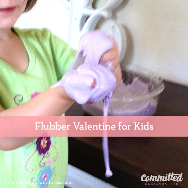 Kids love flubber