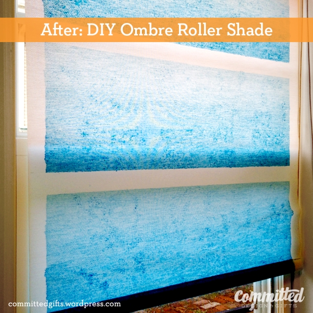 Ombre roller shade5