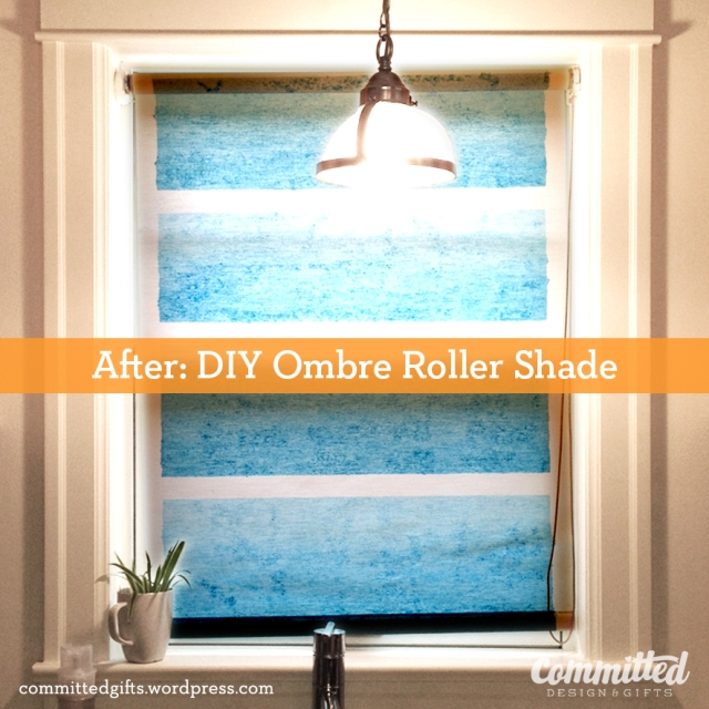 Ombre roller shade6