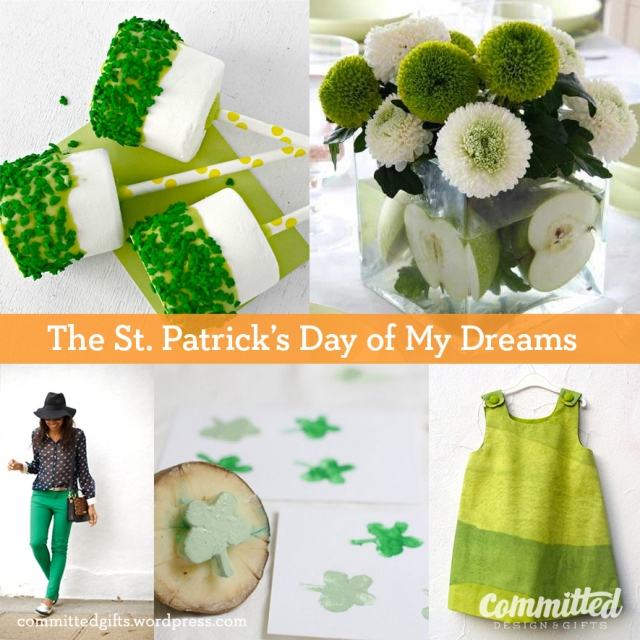 St. Patrick's Day crafts, food, and fashion