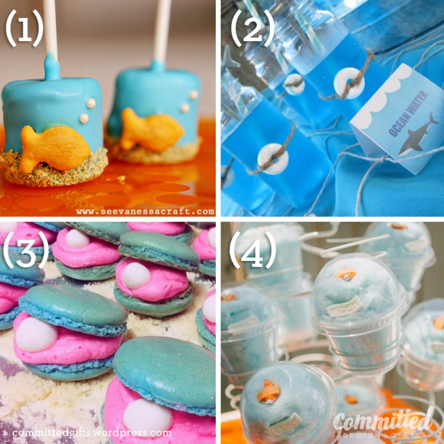 Pinterest-inspired under the sea food