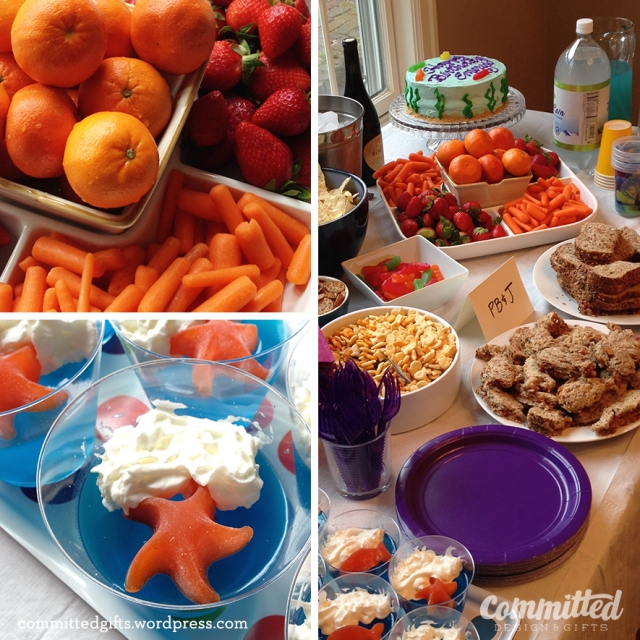 Food for a birthday party